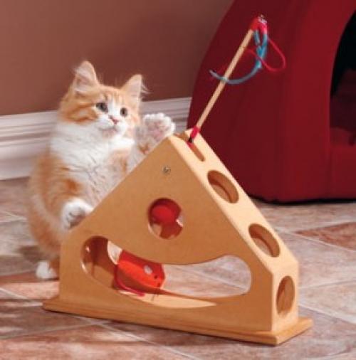Фото игрушек для кошек своими руками